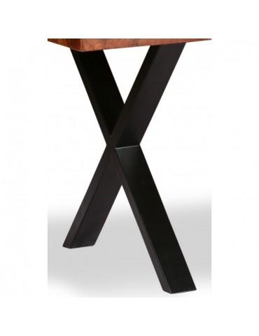 Metal black legs for table
