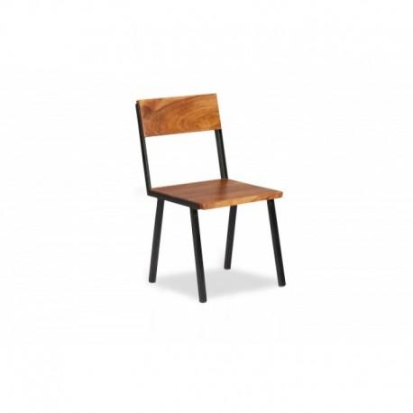 Acacia Metal chair