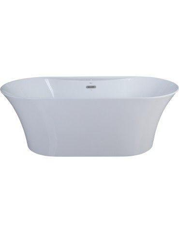 "Osiris Freestanding bath 67"", mat black Finish"