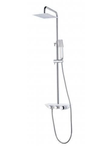 Robinet de bain/douche fini noir