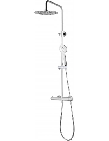 Thermostatic shower/bath faucet