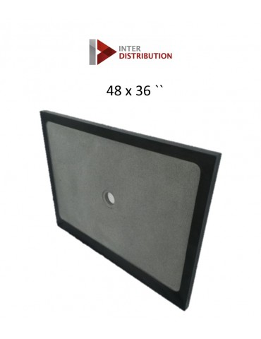 Granit shower tray 48*36
