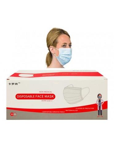 Masque jetable paquet de 50pcs