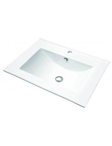 "Porcelain sink 23.6""x 18.1""x 7"""