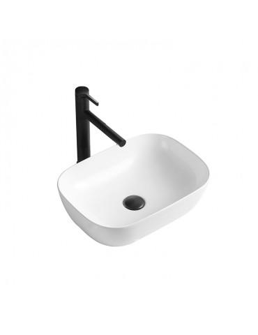 Sumatra, lavabo blanc