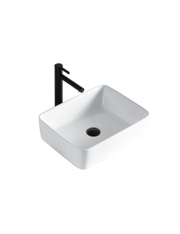 Volva, lavabo blanc