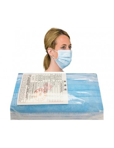 Masque disposable paquet de 50pcs