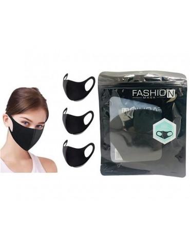 Fashion Cloth Mask Black